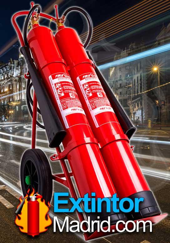 Extintor de co2 de carro 20Kgs