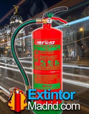 Extintor de polvo de 6kg alta eficacia