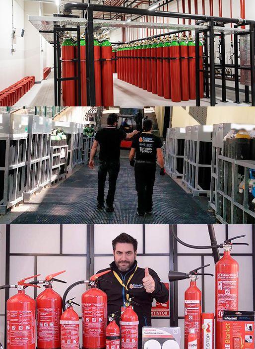 Contacto Extintor Madrid