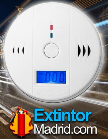 Detector de co con led de indicacion