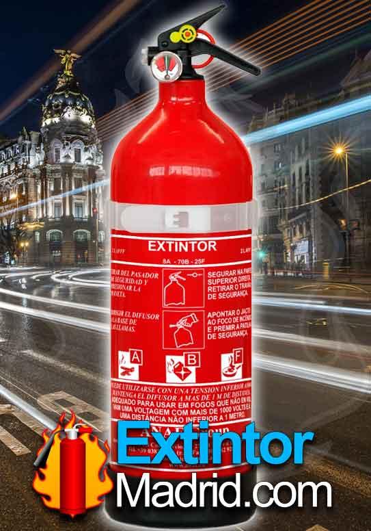 Extintor de Espuma AFFF 2Lts