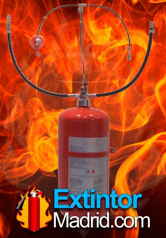 Extinción automática Cocinas Fire-Tex 6C