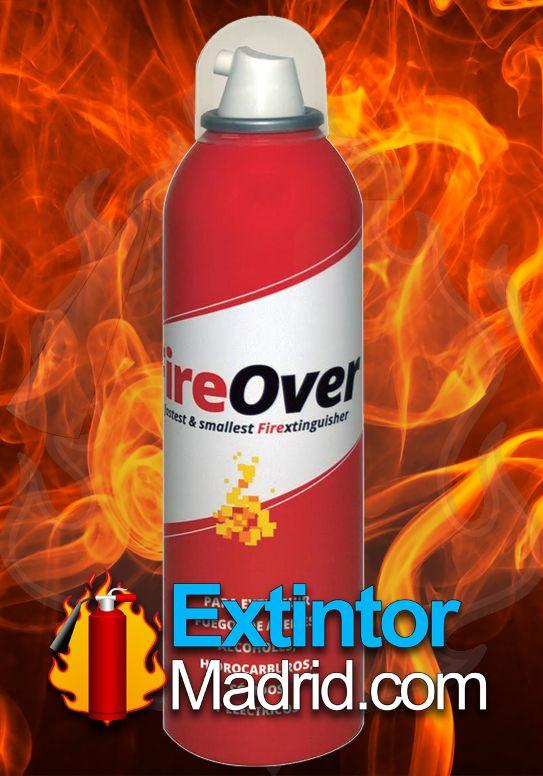 Extintor de Espuma AFFF Fireover