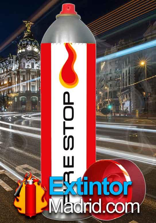 Extintor de Espuma Fire Stop