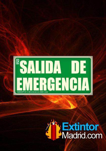 Señal de salida emergencia